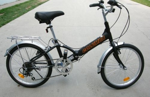 Columba 20″ Alloy Folding Bike with Shimano 7 Speed (R20A) Review