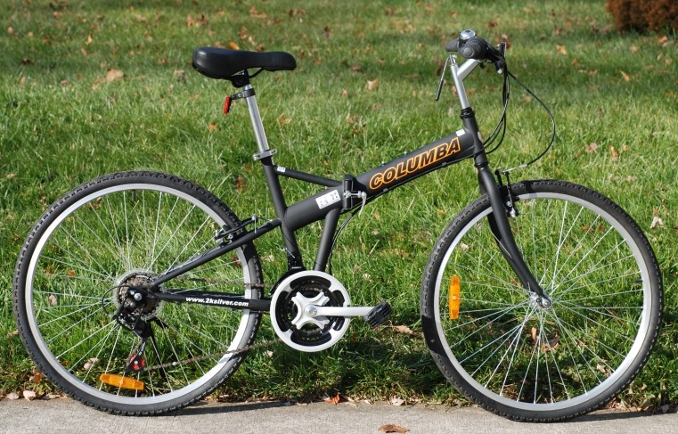 Columba Sp26s Folding Bike With Shimano 18 Speed Review