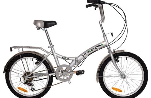 Stowabike 20″ City Bike Compact Folding 6-Speed Shimano Bicycle Review