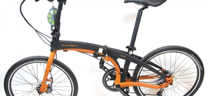 Dahon IOS S9 Orange and Black Folding Bike Review – When Riding Quality is not Compromised …