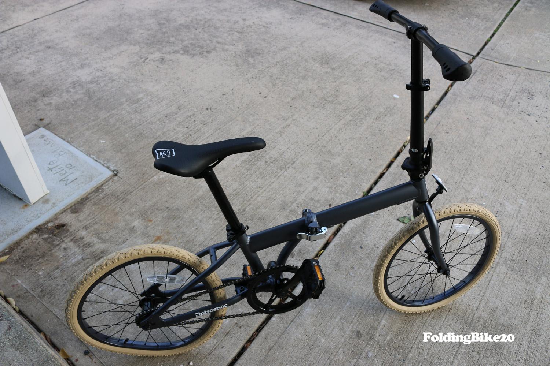 10 Speed Folding Bike