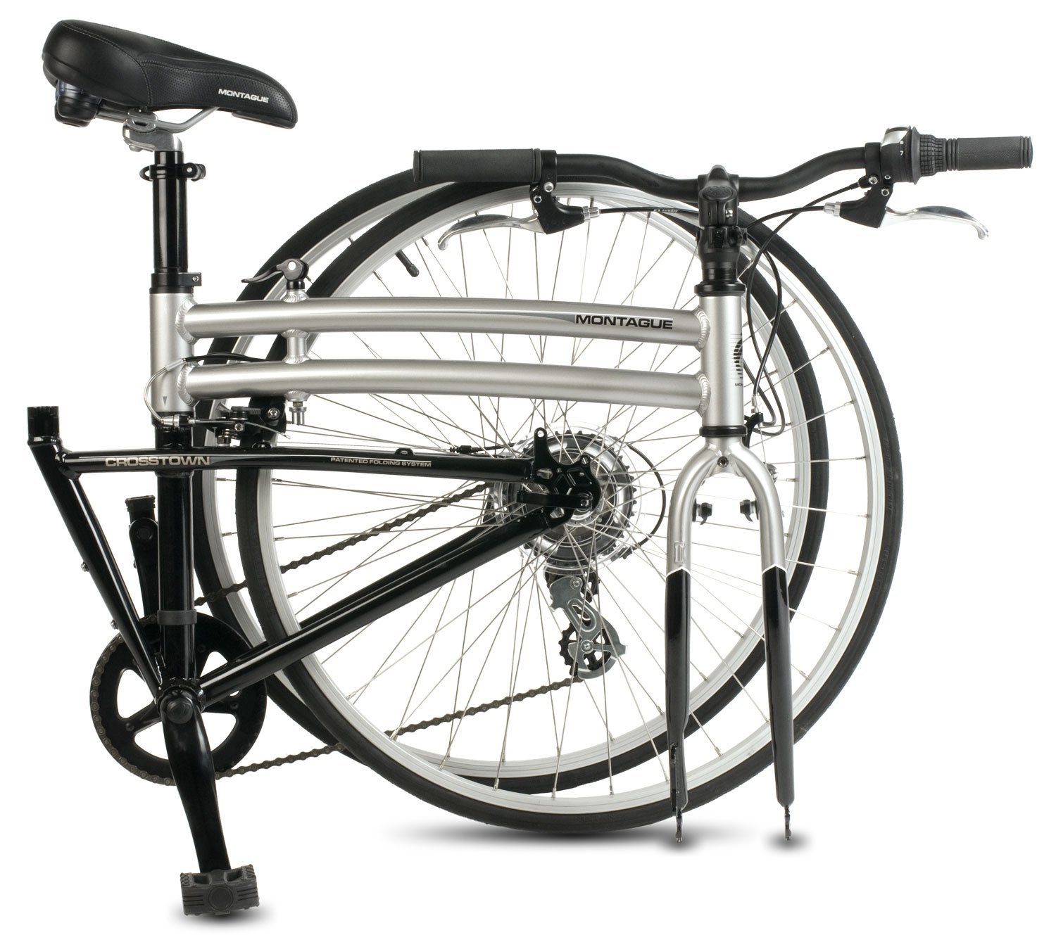 Montague crosstown 700c folding bike review for The montague
