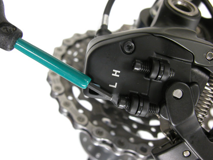 Derailleur-Limit-Screws