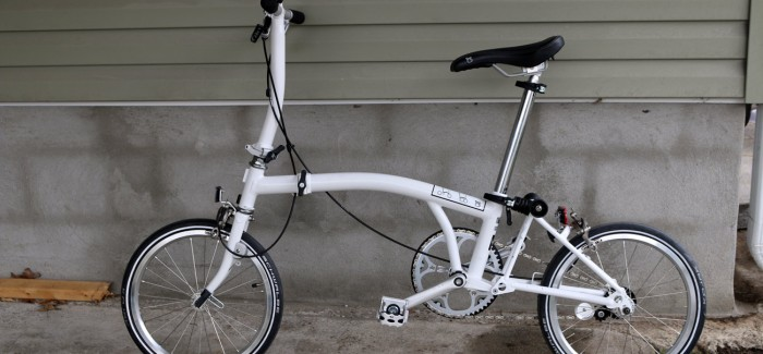 Brompton S1E Single-Speed Folding Bike Review