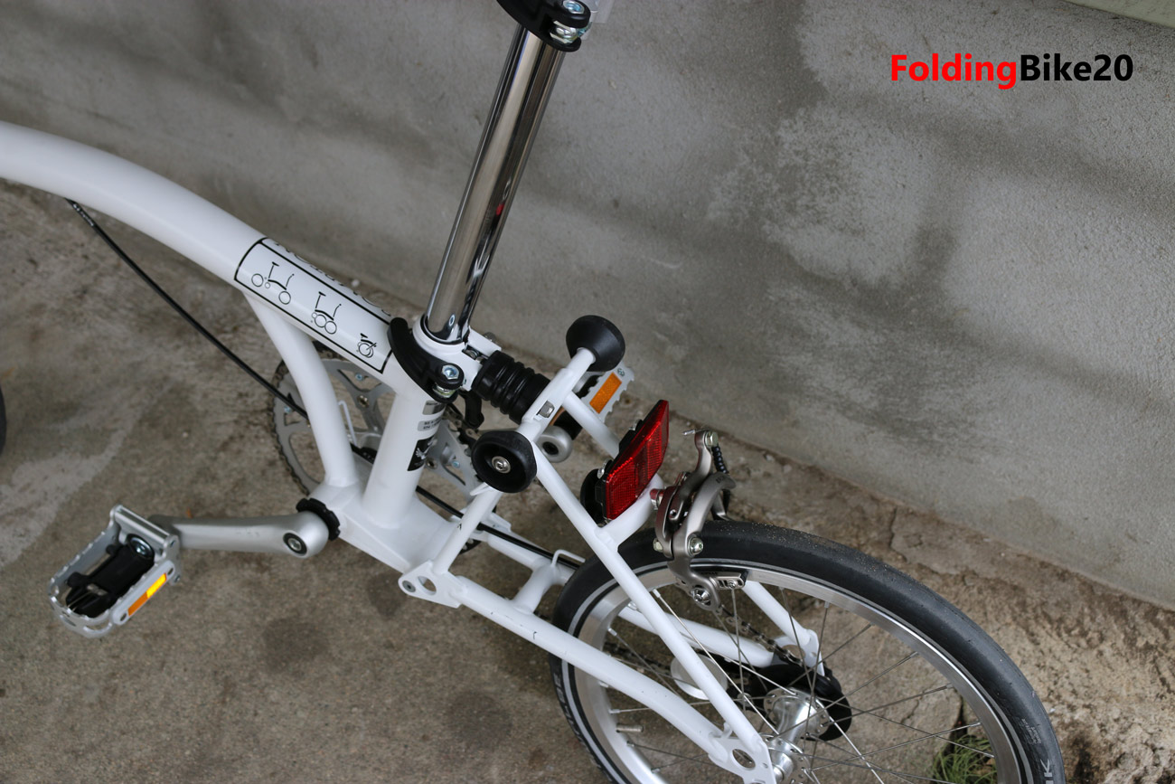 brompton s1e single speed folding bike review. Black Bedroom Furniture Sets. Home Design Ideas