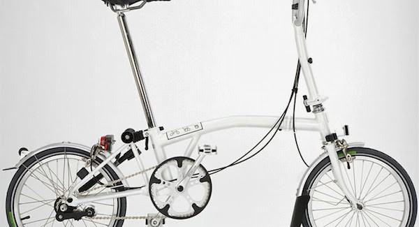 Where is the Kickstand on Brompton Folding Bikes?