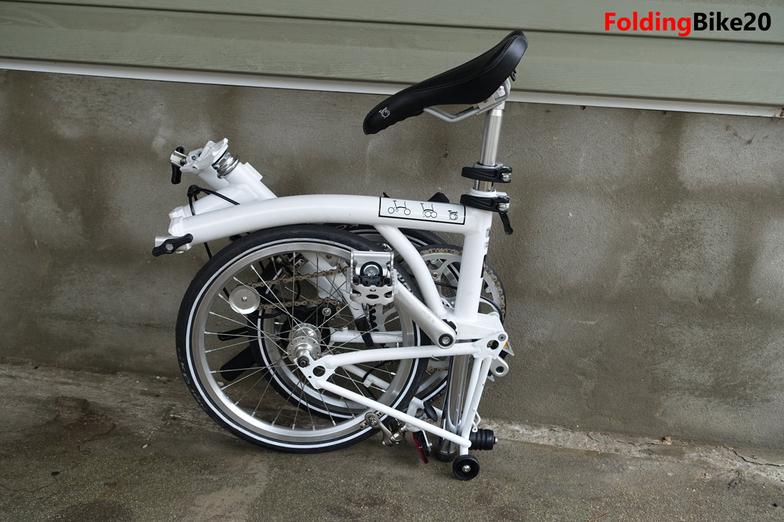 Brompton S1e Single Speed Folding Bike Review