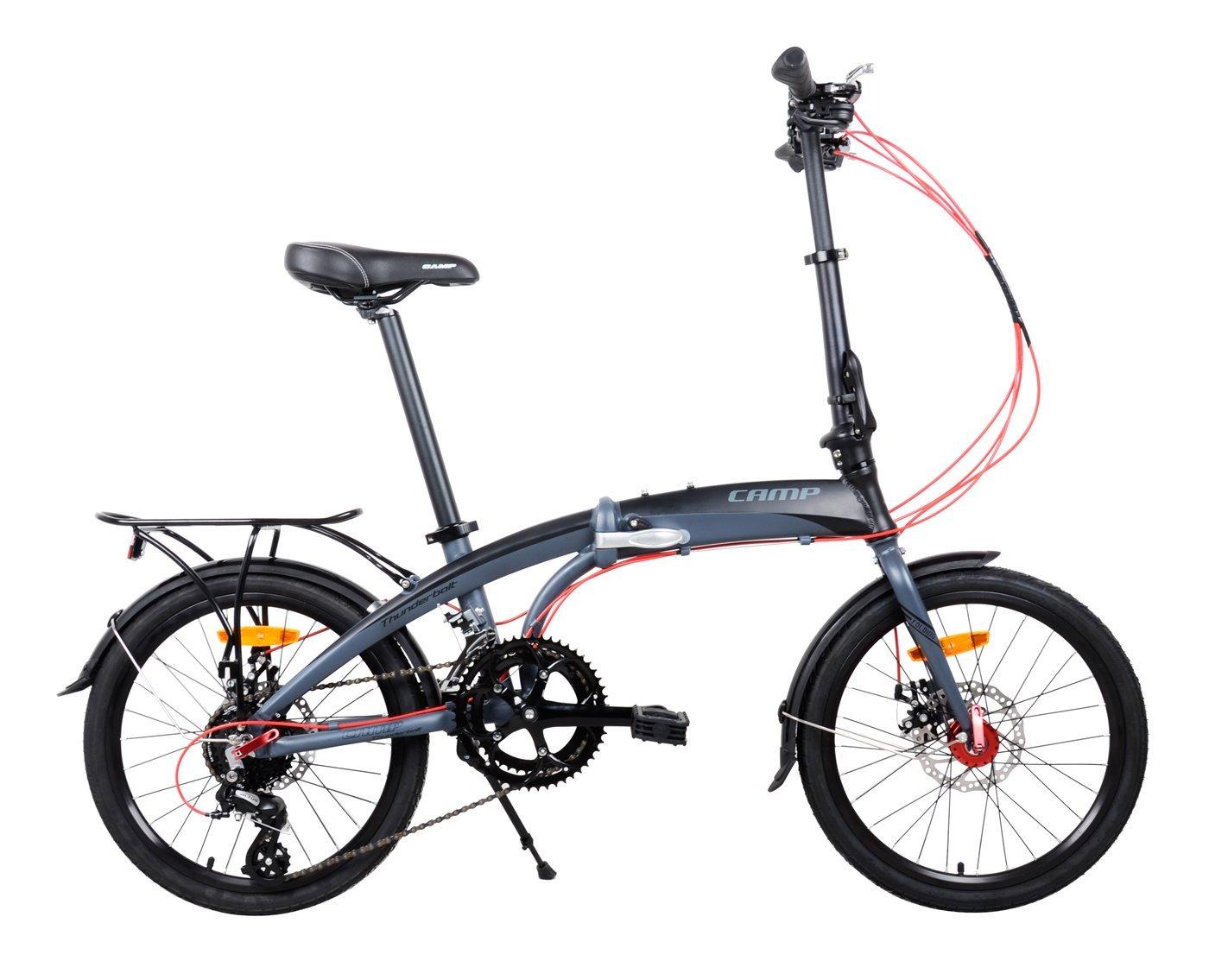 Camp Thunderbolt Folding Bike Review